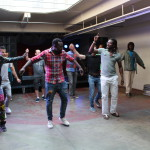 dance workshop by Compagnie Sombo