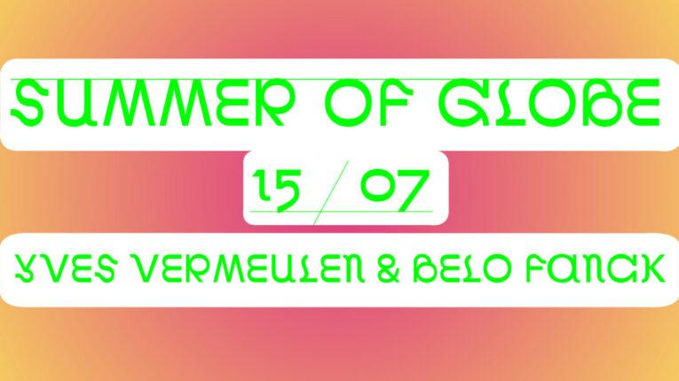 Summer of Globe Facebook events yves vermeulen