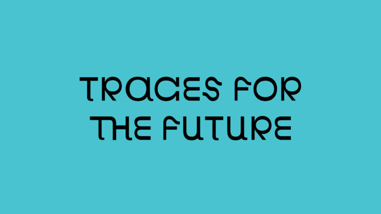 Traces for the future open call banner website